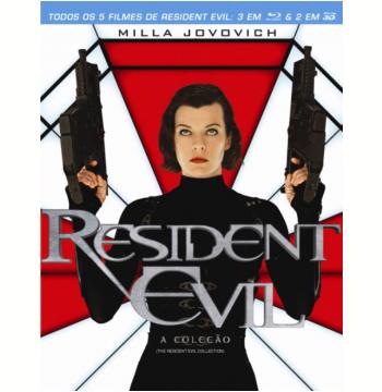 Resident Evil - A Coleção (Blu-Ray)