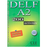 Delf A2 - 200 Activites + Livret De Corriges A L´Interieur - Richard Lescure