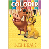 Disney Colorir Medio - O Rei Leao - Jefferson Ferreira