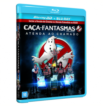 Caça-Fantasmas (Blu-Ray 3D) +  (Blu-Ray)