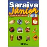 Saraiva Júnior - Dicionário da Língua Portuguesa Ilustrado - Conforme Nova Ortografia  - Saraiva