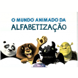 Kit - O Mundo Animado da Alfabetização - Dreamworks - Editora Fundamento
