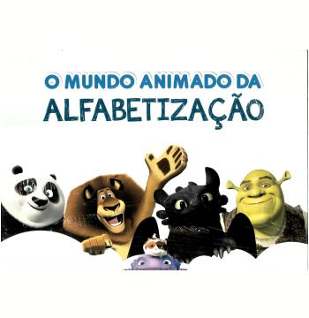 Kit - O Mundo Animado da Alfabetização - Dreamworks