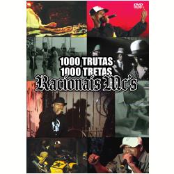 DVD - Racionais MC ´ s - 1000 Trutas, 1000 Tretas - Racionais Mc ´ s - 7899340773469