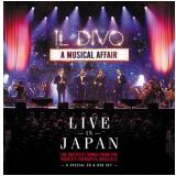 Il Divo - A Musical Affair - Live In Japan (cd) + (DVD) - Il Divo