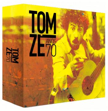 Box - Tom Zé - Anos 70 (4 Cds) (CD)