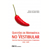 Questões de Matemática no Vestibular - Leandro Carvalho Vieira, Gilmar de Paula Matta