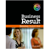 Business Result Elementary Student Book With Dvdrom Pack -