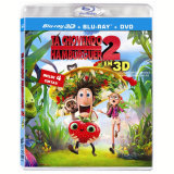 Tá Chovendo Hamburguer 2 - Combo 3D (Blu-Ray) - Vários (veja lista completa)