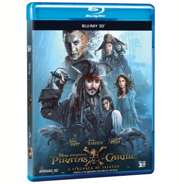 Piratas do Caribe - A Vingança de Salazar (Blu-Ray)