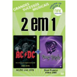 AC/DC - The Apollo Glasgow Scotland Live 1978 + Deep Purple - Live in Paris 1985 (DVD) - Deep Purple, AC/DC