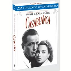 Blu - Ray - Casablanca - Edição Comemorativa do 70º Aniversário - Michael Curtiz ( Diretor ) - 7892110135665