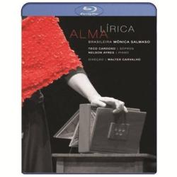Blu - Ray - Alma Lírica - Ao Vivo - Mônica Salmaso - 7898539570773