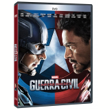 Capitão América: Guerra Civil (DVD) - Vários (veja lista completa)