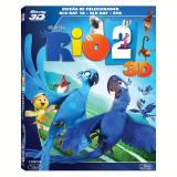 Rio 2 - Edição de Colecionador (Blu Ray 3D + Blu Ray + DVD)  (Blu-Ray) - Vários (veja lista completa)
