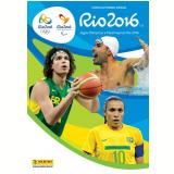 Álbum Jogos Olímpicos Rio 2016 (Brochura, Com 32 Envelopes, 160 Figurinhas) -