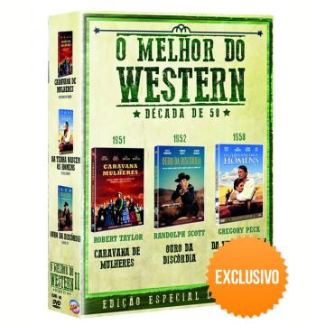 Box - O Melhor do Western - Década de 50 - Exclusivo (DVD)