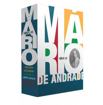 Box - Obras de Mário de Andrade (4 Volumes)