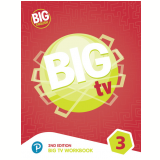 Big English 3 - Big Tv Workbook - American Edition - Pearson