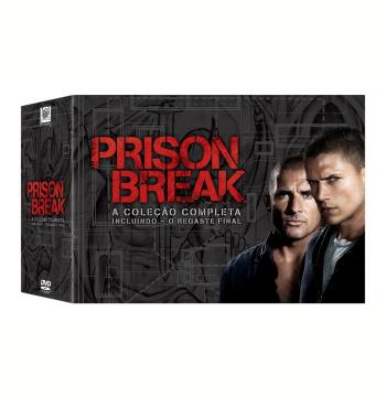 Coleção Completa Prison Break (1ª A 4ª + O Resgate Final) (DVD)