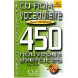Vocabulaire 450 Nouveaux Exercices - Niveau Intermediaire (cd-rom) - Thierry Gallier