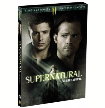 Supernatural - Sobrenatural - 11ª Temporada (6 Dvds) (DVD)
