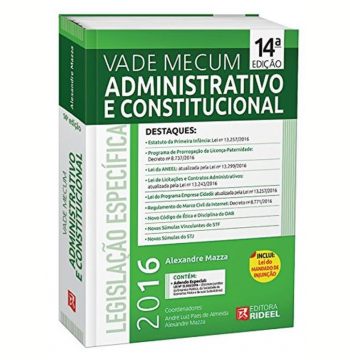 Vade Mecum Administrativo E Constitucional Rideel