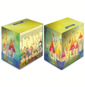 Folha Histórias de Reis, Príncipes e Princesas - Caixa Para Guardar os Clássicos da Coleção