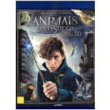 Animais Fantásticos e Onde Habitam - (Blu-Ray 3D) + Blu-Ray - Vários (veja lista completa)