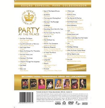 Party At The Palace - 3 Horas de Show (DVD)