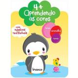 4+ Aprendendo As Cores   Com Adesivos Reutilizaveis - Yoyo Books