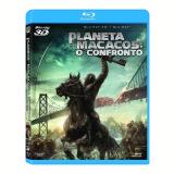 Planeta Dos Macacos: O Confronto Blu-ray 3d + (Blu-Ray) - V�rios (veja lista completa)