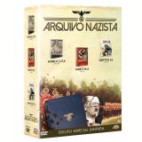 Box O Arquivo Nazista (DVD) - Vários (veja lista completa)
