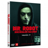 Mr. Robot - Sociedade Hacker - Temporada 2 (DVD) - Christian Slater, Portia Doubleday