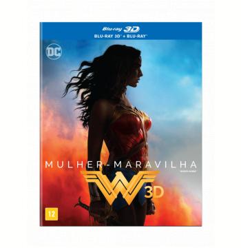 Mulher Maravilha (Blu-Ray 3D) + (Blu-Ray)