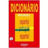 Dicionário Rideel Espanhol / Português / Espanhol - Editora Rideel