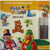 Divirta-se e Aprenda com Patati Patata - Animais - Blu Editora