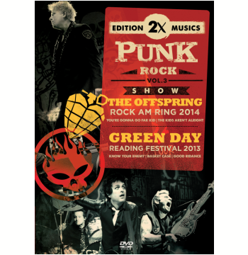 The Offspring 2014 e Green Day 2013 (Vol. 3) (DVD)