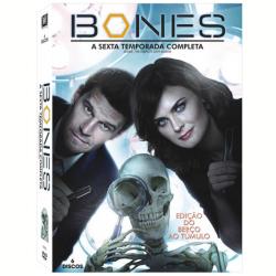 DVD - Bones - 6ª Temporada - David Boreanaz, Emily Deschanel - 7898512978022