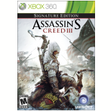 Assassin�s Creed III - Signature Edition (Legendas Em Portugu�s) (X360) -