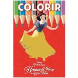 Disney Colorir Medio - Branca De Neve - Jefferson Ferreira