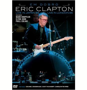 Eric Clapton Em Dobro - Live In Japan 88 + Live In London 85 (DVD)