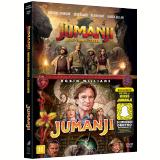 Coleção Jumanji + Jumanji - Bem-Vindo à Selva (DVD)