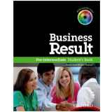Business Result Pre-Intermediate Student Book With Dvdrom Pack -
