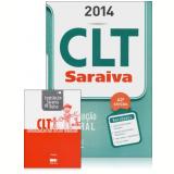 CLT Saraiva & Constitui��o Federal - 2014 -