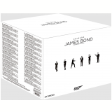 Coleção James Bond (23 Filmes) (Blu-Ray) - Vários (veja lista completa)