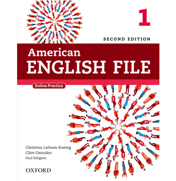American English File 1 Student Book With Online Skills - Second Edition