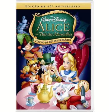 Alice no País das Maravilhas - Edição de 60º Aniversário (DVD)