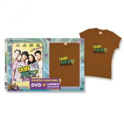 DVD - Camp Rock 2 - The Final Jam - Edição Estendida + Camiseta - Paul Hoen ( Diretor ) - 7899307914621