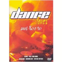 DVD - Dance Fever - Anos 80 e 90 - Vários - 7898208970910